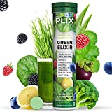 The Plant Fix Plix Green Elixir - Supergreens Whole food Multivitamins for Immunity