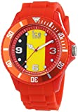 Ice-Watch - ICE world Belgium - Montre rouge pour homme avec bracelet en silicone - 000570 (Small)