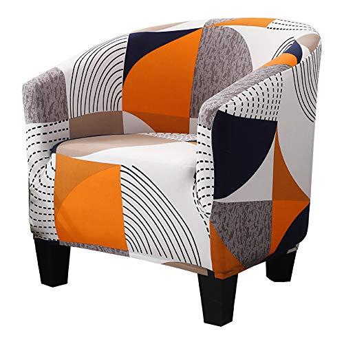 SearchI Sesselschoner Sesselüberwürfe Sesselhusse Sesselbezug Stretch Couchüberwurf Elastisch Stretch Husse für Cafe Stuhl Sessel Clubsessel Loungesessel Cocktailsessel