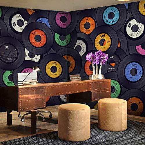 Fotobehang Moderne Mode Fotoalbum Collage Patroon Non-Woven Premium Art Print Fleece Muurschildering Poster voor Woonkamer TV Achtergrond Muur 78.74x59 inch