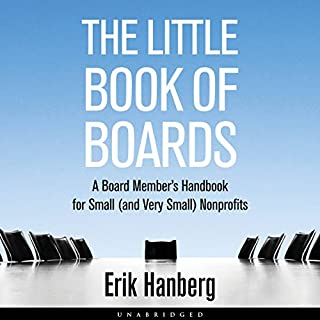 The Little Book of Boards audiobook cover art