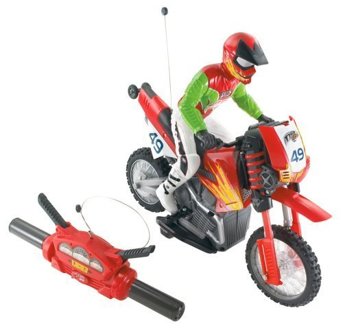 Mattel - N1922 - Hot Wheels - Véhicules Radio commandés - Wheelie Cycle 36Mhz