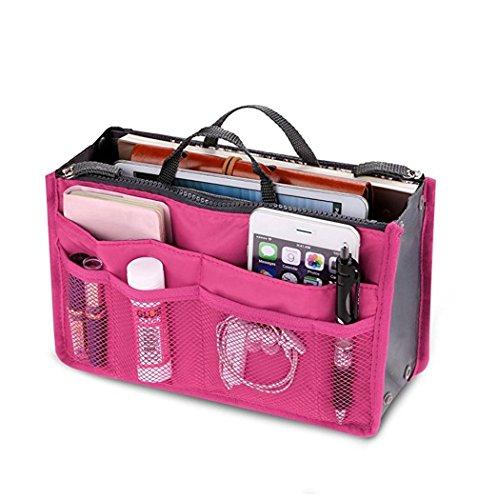 Aulei Neue Handtaschen Organisator Organizer Kosmetik Make-up Taschen 12 Farben ETDS