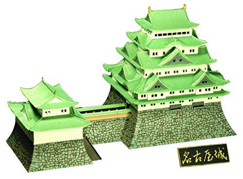 童友社 1/350 日本の名城 重要文化財 名古屋城 プラモデル S23