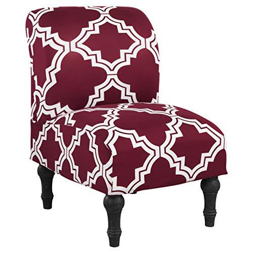 NIBESSER Sesselbezug Sofabezug Sesselschoner Sessel-Überwürfe onhe Armlehnen Sesselhusse Stretch Sesselbezug für Cafe Wohnzimmer Sessel