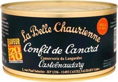 Entenkeulen confit - La Belle Chaurienne- Französische Spezialitäten - confit de canard - 1250 gr : 4 Teil