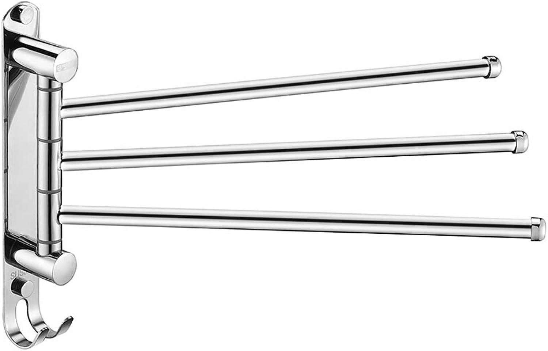 orden en línea JNYZQ JNYZQ JNYZQ Toallero Bao De Acero Inoxidable Toallero Multifuncional rojoación De Tres Barras Toallero Móvil Accesorios De Hardware De Bao (22,5 Cm) (Tamao   22.5cm)  cómodo