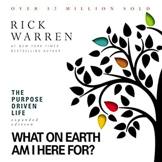 The Purpose Driven Life     What on Earth Am I Here For?              Written by:                                                                                                                                 Rick Warren                               Narrated by:                                                                                                                                 Rick Warren                      Length: 9 hrs and 38 mins     28 ratings     Overall 4.3