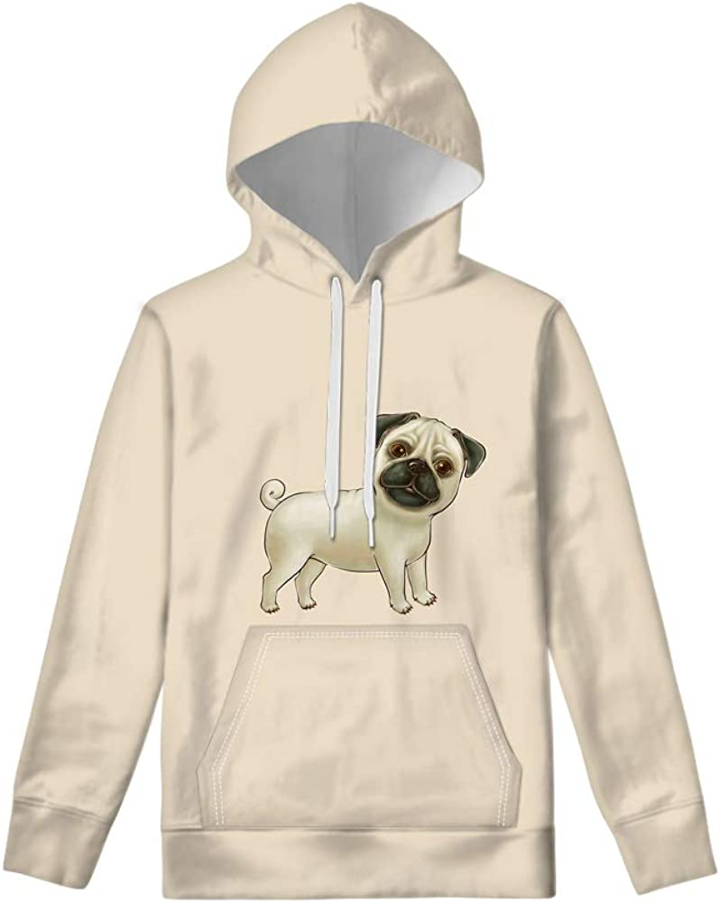 WELLFLYHOM Cute Hoodies for Teen Girls Boys Hooded Sweatshirt with Pocket Fall Spring Pullovers Size 6-16 Years