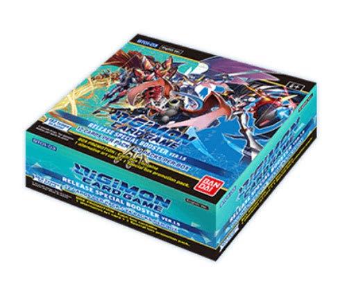 Digimon English TCG V1.5 Core Booster Box - 24 Paquetes