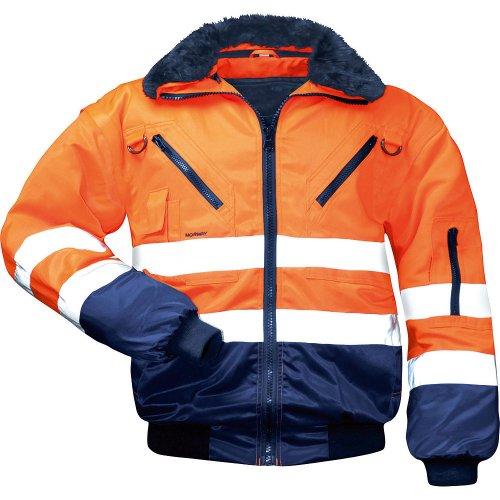 NORWAY 23649 Sicherheitsausrüstung und -kleidung, Orange/Marine, M