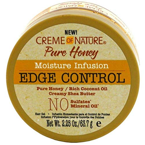 Creme Of Nature Pure Honey Moisturizing Infusion Edge Control 63.7G