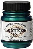 Jacquard Lumiere, Vernice acrilica Metallizzata, 65 ml, Blue Gold, Confezione da 1