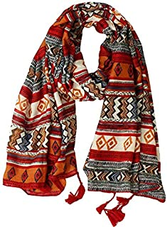 DIEBELLAU Scarf Sunscreen Shawl Female Summer Beach Towel Seaside Oversized Scarf Dual-use Multi-Purpose Scarf Wild (Color : Orange)