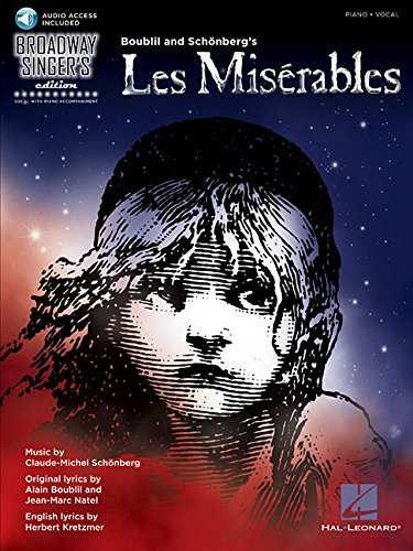 Les Miserables -Broadway Singer's Edition-: Noten, CD für Klavier, Gesang, Gitarre