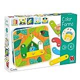 Goula - Colors & shapes - Juguete preescolar educativo para aprender las distintas formas, colores, números y letras para niños a partir de 3 años