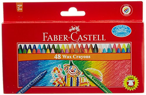 Faber Castell Wax Crayons - 48 Shades