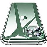 Garegce Cover iPhone 11 Pro Max (2019) + [2 Packs Vetro Temperato] Trasparente Silicone Morbido, Antiurto Protettiva Custodia per iPhone 11 Pro Max- 6.5 Pollici (Trasparente)