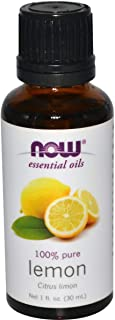 NOW Essential Oils, Lemon, 30 ml