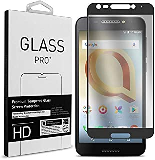 for Jitterbug Smart2 Screen Protector Tempered Glass Full Shield Touch, 9-H Hardness HD Clear, [Anti-Scratch],[Anti Fingerprint], [Bubble Free] Anti Glare Compatible with Jitterbug Smart 2 (2018)