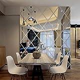 Lamina espejo adhesivo decoracion de hogar 50x50cm (no se puede utilizar como espejo)