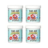Bad Air Sponge Odor Neutralant 14 Ounce, 4 Pack
