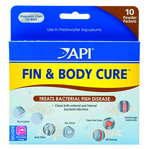 API FIN & BODY CURE Freshwater Powder Medication