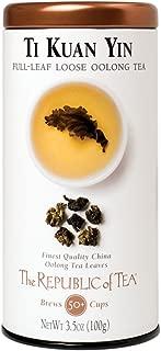 The Republic of Tea Ti Kuan Yin Full-Leaf Black Tea, 3.5 Ounces / 50-60 Cups