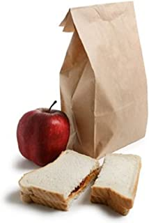 Nicole Home Collection Brown Paper Lunch Bags 80 Count