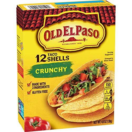 Old El Paso Taco Shells, 12 shells, 4.6 oz