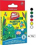 Botes de plastilina de{6} coloures 90g. Set ArtBerry EK-33297