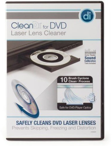 Digital Innovations 4190200 CleanDr for DVD Laser Lens Cleaner