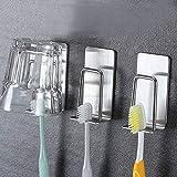 SanZHONGsd Soporte para vasos de cepillo de dientes, 2 piezas de...