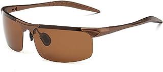 Gafas Hombre y Mujer Ciclismo, Gafas de Sol Deportivas Gafas de Bicicleta UV 400 con Lentes, adecuadas para Ciclismo Gafas Moto béisbol Pesca esquí Correr Conducir Gafas