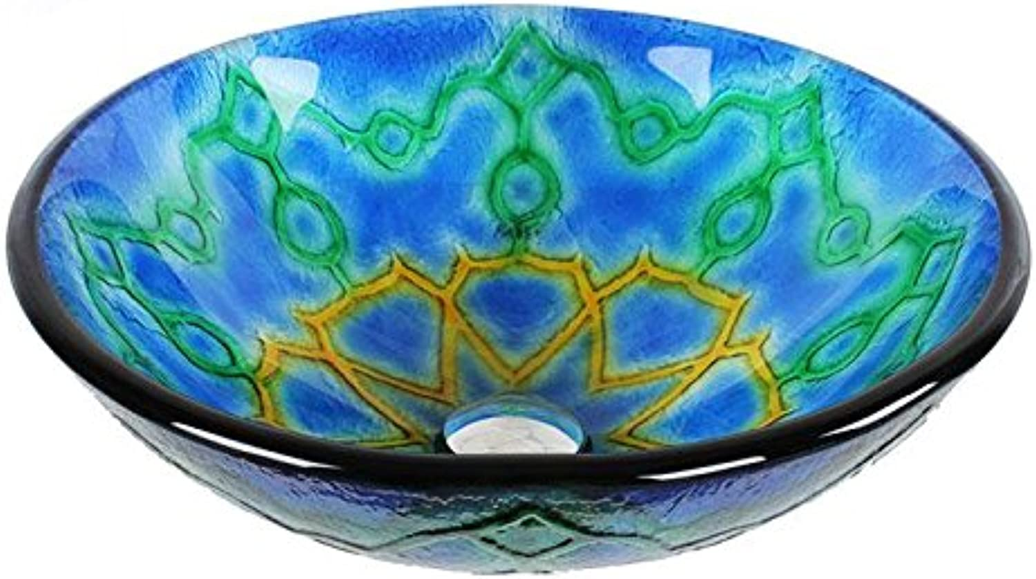 FANGYAO Tempered glass art on the wash basin (42515019mm) , single basin