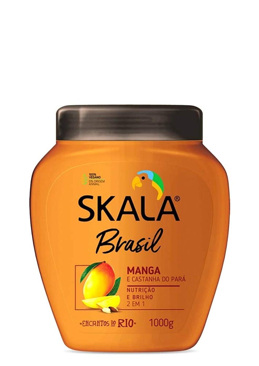 準備するファンドインフラSkala Brasil スカラブラジル マンゴー&パラ栗 オールヘア用 2イン1 トリートメントクリーム 1kg