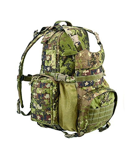 DEFCON 5 modulaire Molle Backpack Sac à Dos, Mixte, Modular Backpack Molle, Italian Camo, 35 x 53 x 19 cm