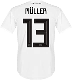 adidas Germany Home Müller Jersey 2018/2019 (Official Printing)