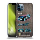 Head Case Designs Licenciado Oficialmente Batman DC Comics 1997 Película Historial de batmóviles Carcasa de Gel de Silicona Compatible con Apple iPhone 12 / iPhone 12 Pro