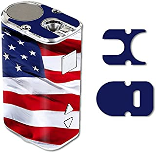 MightySkins Skin Compatible with Eleaf iStick 10W Mini – American Flag   Protective, Durable, and Unique Vinyl Decal wrap Cover   Easy to Apply, Remove, and Change Styles   Made in The USA