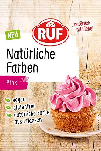 RUF Natürliche Lebensmittelfarbe pink, 8 g