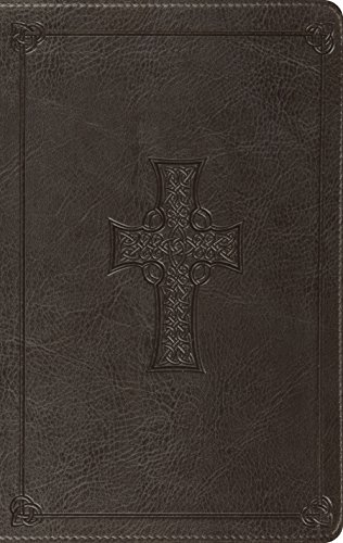 ESV Value Thinline Bible (TruTone, Charcoal, Celtic Cross Design)