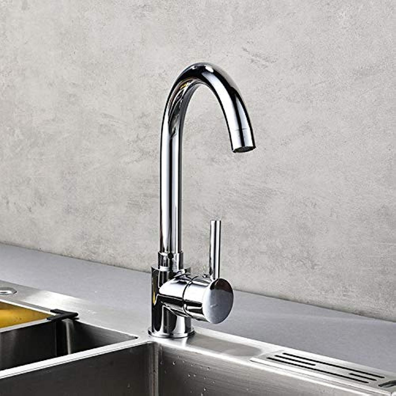 Wasserhahn Waschtischarmatur Galvanik-Teller-Hahnhahn-Kupferküchenhahn Sinken Heie Und Kalte Plattierungsplattenmischhahn