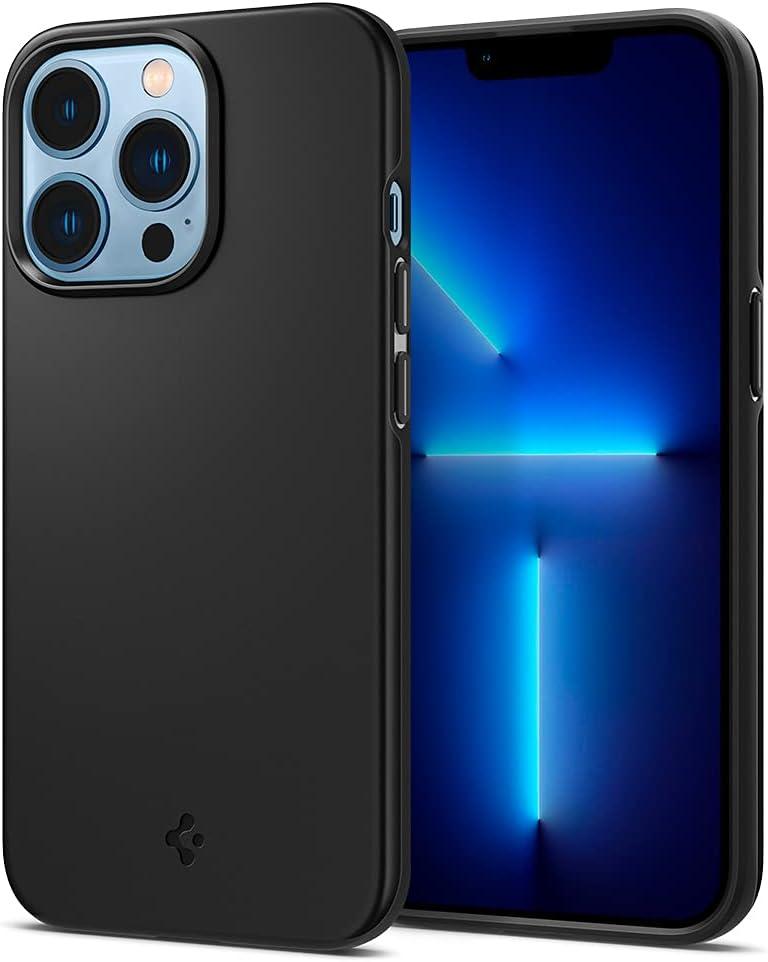 Spigen Thin Fit Designed for iPhone 13 Pro Case (2021) - Black