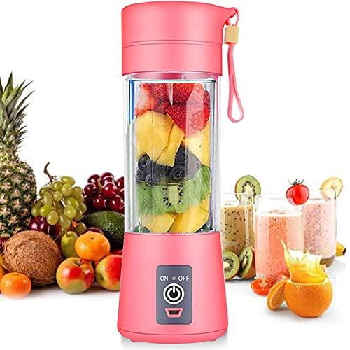 Licuadora personal [versión actualizada], vaso exprimidor portátil/mezclador de frutas eléctrico/batidora de zumo USB,...
