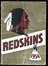 1954 NFL Washington Redskins Media Guide G