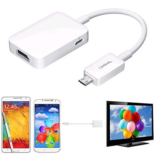 FastSun Micro USB MHL 2.0 to HDMI HDTV Adapter Cable for Samsung Galaxy S4 S5 Note