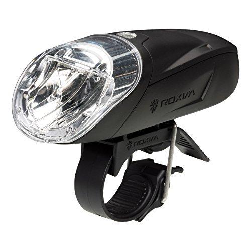 Roxim RS3K Bici Luce Premium – LED CREE – Estremamente Luminosa - Gamma Raggio Estremamente Ampio e Lungo – per Bici da Corsa, MTB, ATB e Mountain Bike