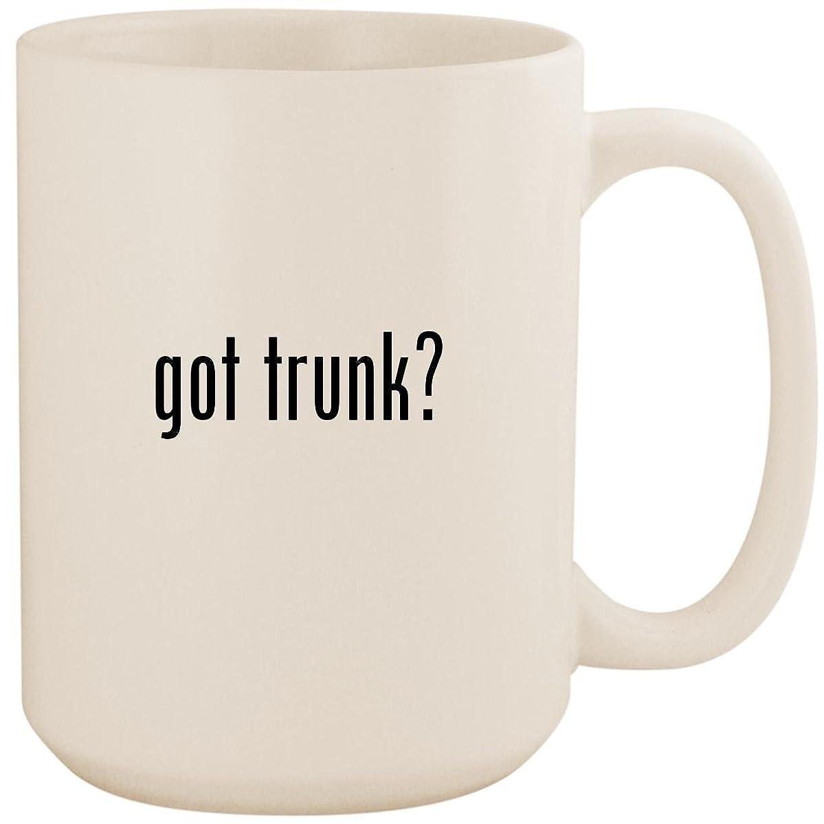 got trunk? - White 15oz Ceramic Coffee Mug Cup