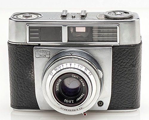 Zeiss Ikon Contessa Kamera m. Carl Tessar 2.8/50 Optik